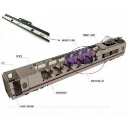 Barras LED para iluminación indirecta