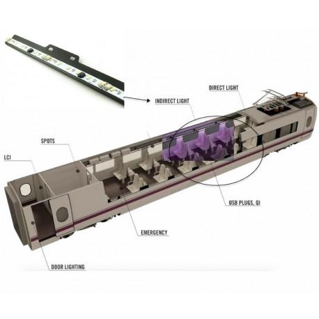 LED bars for indirect lighting