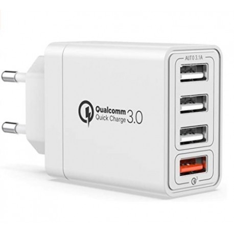 Quick Charger 4 door USB
