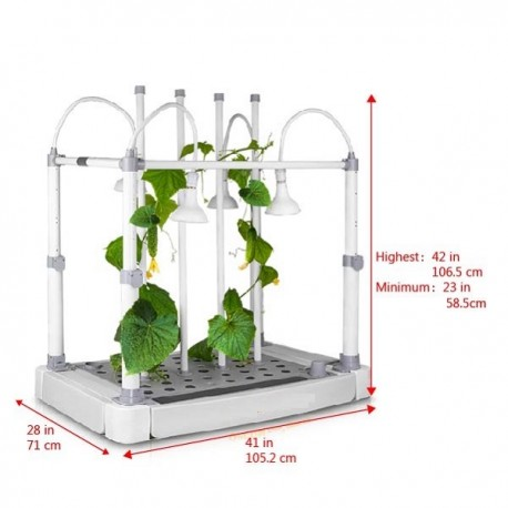 OPCOM Tabletop Hydroponic Grow Box